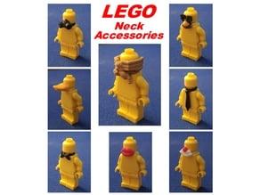 8 LEGO Neck Accessories