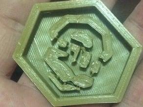 Ingress Guardian Badge