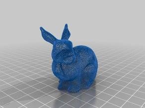 Wireframe bunny