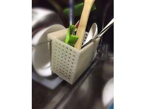 kitchen basket thing for utensils