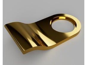 Cylinder lock pull