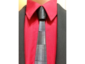 Reaslistic Tie Knot (for Tie - Print and wear - Parametric)