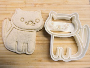 Neko Atsume Cookie Cutter