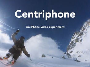 Centriphone (iphone + gopro) - original