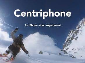 Centriphone (iphone + gopro) - original