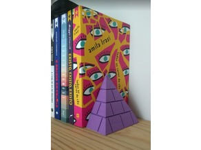 Pyramid book stand