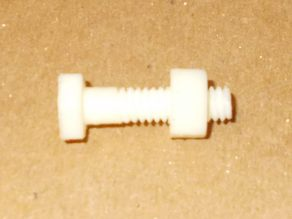 "1/4"" x 20 x 1"" Nut and Bolt"