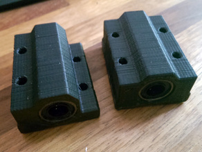 LM8LUU Bearing Blocks - Wanhao Duplicator i3