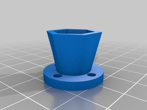 M8 Hex nut Adapter for Leadscrew X-axis