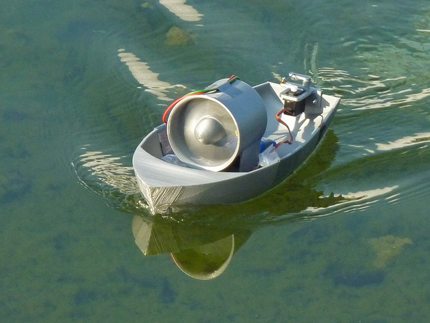 3d printed boats propeller