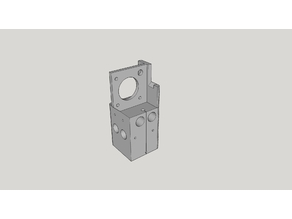 Creality CR-2020 Gantry for E3d Titan Extruder - E3dv6 Optional