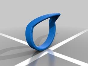 Midi Chevron Ring