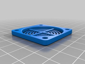 Fan Guard 40mm. Designed for 3D Builder printer.