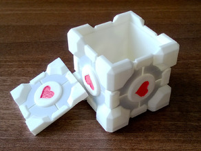 Weighted Companion Cube Box