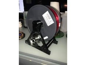 The Punisher Desktop Spool Holder.