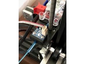 Ender 3 with SeeMeCNC EZR extruder - Mount for Duet Laser Filament Sensor