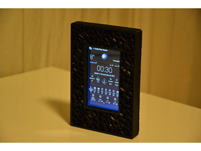 Weather Station and picture frame with an old Samsung S3 Mini