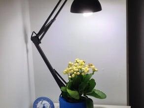 Flower Pot - Light Stand