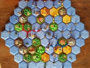 the tresure hunters (scenario: settlers catan style)