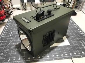 Rugged 14,000 Lumen Stratus LED Ammo Can Flashlight