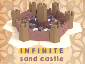 Infinite Sand Castle (5 Moulds)