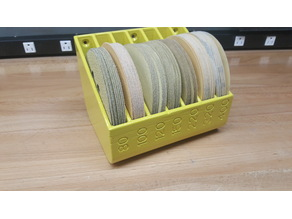 "5"" sander disc holder/organizer"
