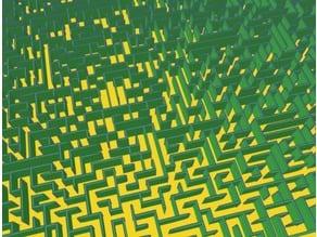 maze dimension 55x55