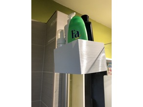 Shower Wall Bottle and things Handler
