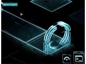 28mm Shadowrun Matrix Portal