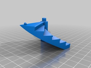 Another Dice Tower V2 Modular Stairs