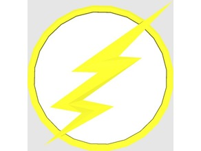 """The Flash Logo From The CW`s """"The Flash"""" (Not Season 1)"""