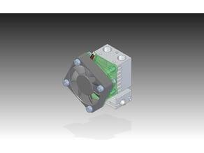 40mm to 30mm Fan-Adapter