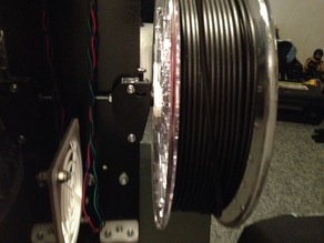 Spool holder for mendel90, nophead kit, to ColorFabb and more