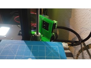 Ender 2 MOSFET mount made compact