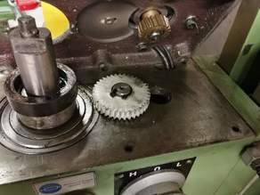 Warco WM 16 Milling Machine - sacrificial gear