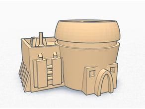 4 basicTotoine houses (x-wing) ver0.8