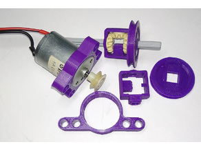 Motor RF-370  mount for Lego Technic & variator