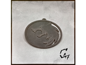 Witcher Series Medallion - Wolf