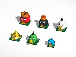 #Chess #Tinkercad Anger Birds