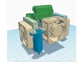 E3D Chimera mount for Creality CR, Ender,Tevo Tornado,etc.