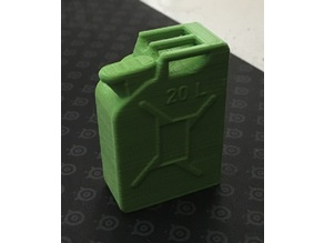 1/10th Scale Fuel Container for RC (Jerry Can)