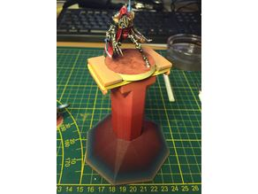 Tabletop Wargames Figurines Paint Base Holder