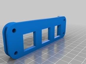 Segmented modular tool hanger