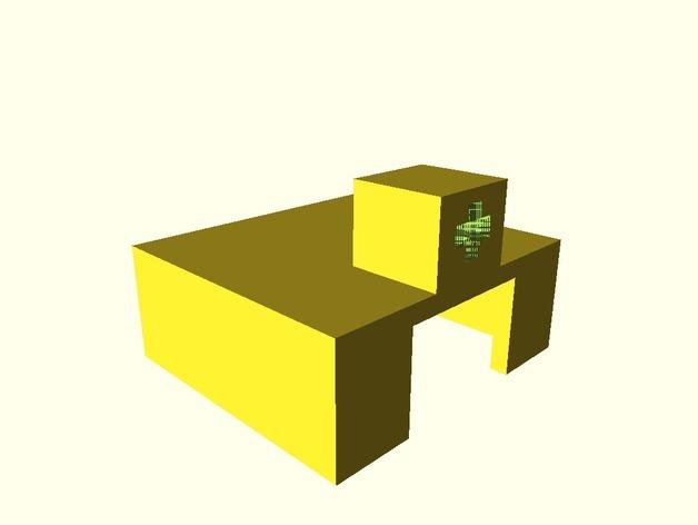 Camera Lego Nxt : Raspberry pi camera module lego nxt ev axle connector by