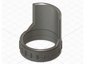 Flash visor (peak) for Convoy S2+, S3 (D24mm)