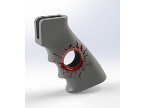 AR-15_Bullet_Hole_Grip