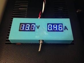 Caixa para voltímetro e amperímetro