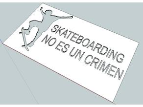 Graffiti Skateboarding no es un crimen / is not a crime
