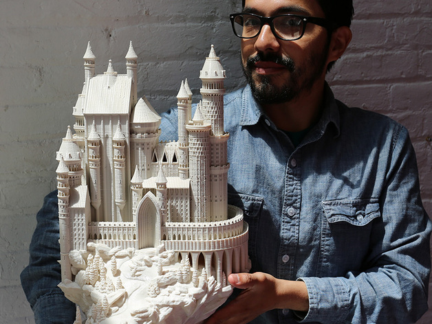 Medieval Castle By Boldmachines Thingiverse