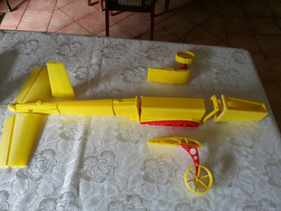Model Plane LOW WING PAF-02